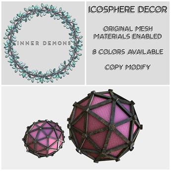 {ID} Icosphere Decor 7