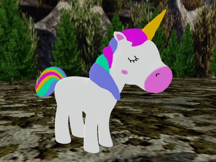 *NEW* Animated-Mesh Peaceful (Roaming) UNICORN