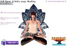 [M.W]Full Perm 2 Lotus Yoga Floating Animations (BOX)
