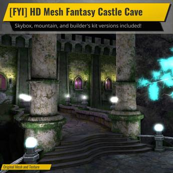[FYI] HD Mesh Fantasy Castle Cave