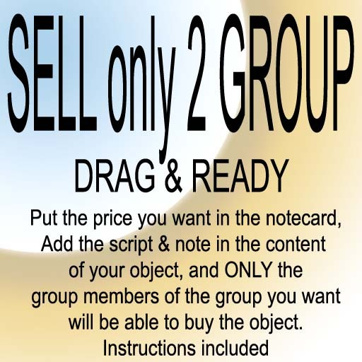 GROUP SELL ONLY SCRIPT