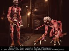[NF] - LICKER AVATAR - MONSTER AVATAR - Zombie Avatar - Animesh Avatar