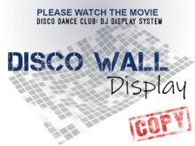 DJ Display (Stage Board)