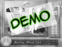 [TJR] Bunny Maid Set DEMO