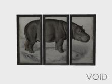 VOID - Cooper's Hippo Print