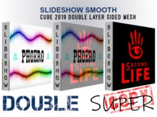 SlideShow Smooth Cube 2019 Double Layer Sided