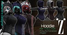 [inZoxi] - Thicc Fox Hoodie Female