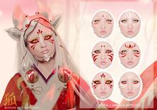 Le Forme Kitsune Face Paintings Applier BOX