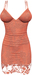 RIOT / Ashleey Cocktail Dress - Coral | Maitreya / Belleza / Slink
