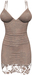 RIOT / Ashleey Cocktail Dress - Taupe | Maitreya / Belleza / Slink