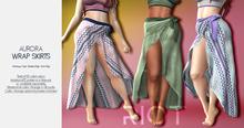 RIOT / Aurora Wrap Skirt - Fatpack | Maitreya / Belleza / Slink