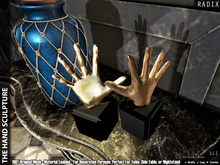 [RADIX] The Hand Sculpture
