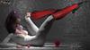 AZOURY - Veuve Noire Ballet Boots {Red}
