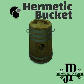 Hermetic bucket [G&S]