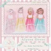 CCC Alyssa Dress - Aqua