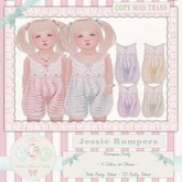 CCC Jessie Romper - Pink {TDB Fitted & BEBE Fitted}