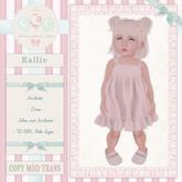 CCC Kallie Dress Cyan {Bebe, Baby & KId TD}