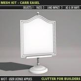 Clutter - Mesh Kit - Carr Easel