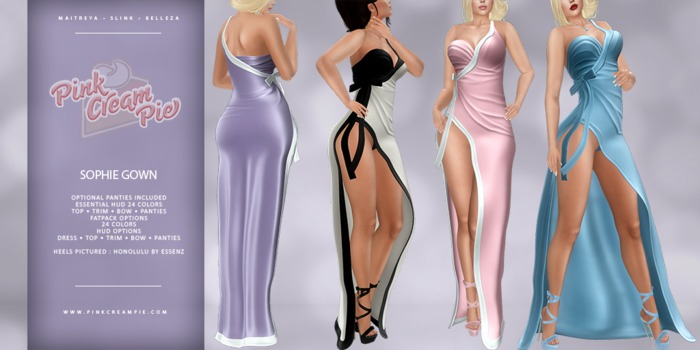!PCP :: Sophie Gown [FATPACK]