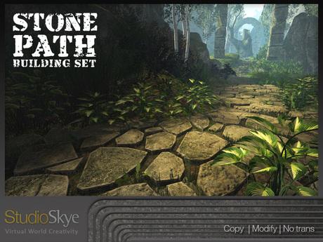 Skye Stone Path Building Set