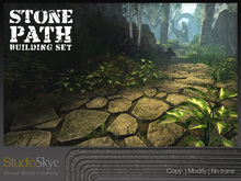 Skye Stone Path Building Set