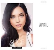 #PUMEC  -  Alice - APRIL (N) - SKIN (Catwa)