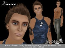 Lance, Complete Male Avatar