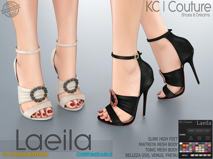-KC- LAEILA HEELS / MAITREYA SLINK BELLEZA TONIC