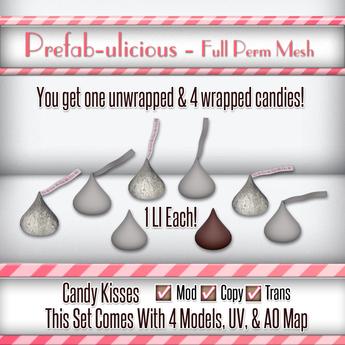 Prefabulicious - Full Perm Candy Kisses