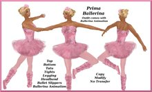 Ballerina Costume (includes ballerina animation)