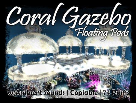 MG - Coral Floating Gazebo
