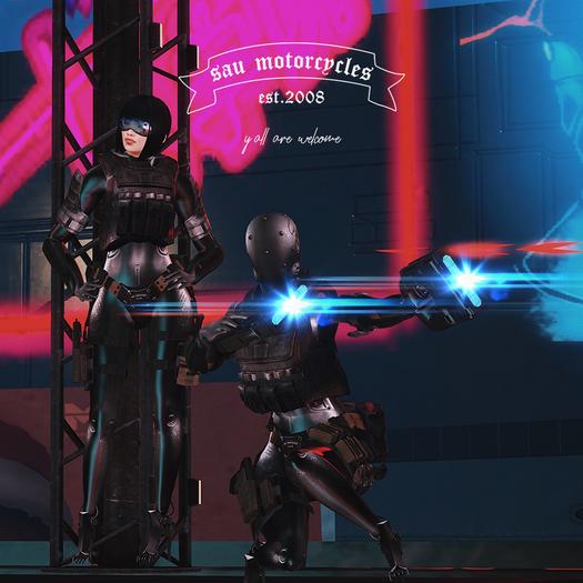 [sau]Cyborg blackops[Animesh+Wearable+Decor]