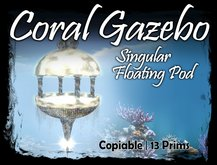 MG - Coral Single Floating Gazebo