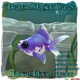 Dragon Magick Wares Bloop Bloop Fish Avatar Mesh