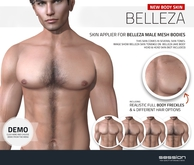 [ session ] Belleza Male Body Skin - Tone02