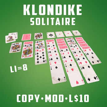 Play the Klondike Solitaire Card Game