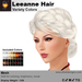 A&A Leeanne Hair Variety Colors V2, mesh updo with braided sides & intricate low bun, low complexity
