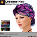 A&A Leeanne Hair Summer Colors V2, mesh updo with braided sides & intricate low bun, low complexity
