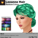 A&A Leeanne Hair Rainbow Colors V2, mesh updo with braided sides & intricate low bun, low complexity