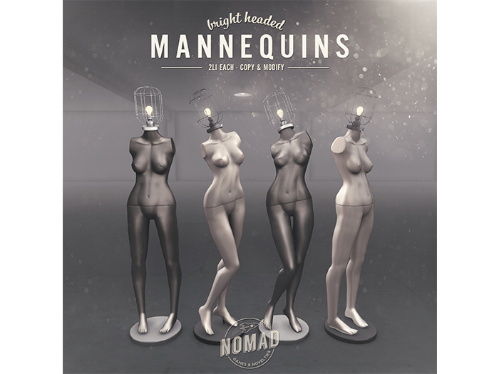 NOMAD // BRIGHT HEADED MANNEQUINS
