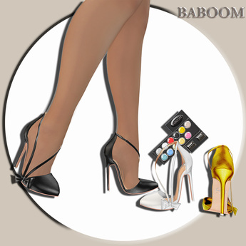Baboom-VERENA-Shoes//HUD- for stocking