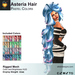 A&A Asteria Hair Pastel Colors, very long curly rigged mesh style