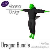 Dragon Hoodie and Pants Bundle [JOMO Male & Female Dragon]