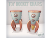 NOMAD // TOY ROCKET CHAIRS SET A