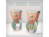 NOMAD // TOY ROCKET CHAIRS SET B