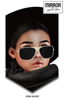 MIRROR - Oscar Sunglasses - Gold