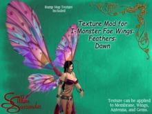*Silken Surrender* IM Texture Mod - Feathers, Dawn