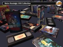 Retro Nostalgic VHS collection