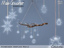 Home and Garden - Wishbringer Snowflake Mobile