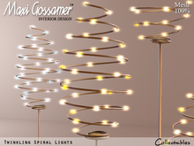 Home and Garden Twinkling Spiral Lights